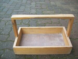 Werkzeugkasten-Tischler-Holz-Kiste-Henkelmann-Traeger-Henkelkasten-Werkzeugkiste
