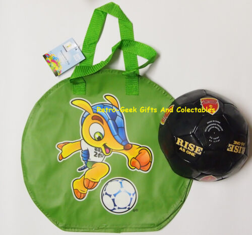 Football Kit Bag And Ball Brazil World Cup 2014 Rise As One Fifa Budweiser Promo