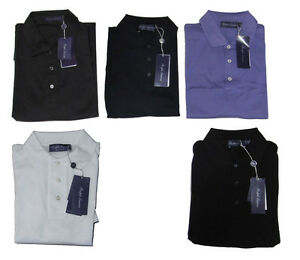 Ralph-Lauren-Purple-Label-Mens-Cotton-Knit-Italy-Button-Polo-Sport-Shirt-New