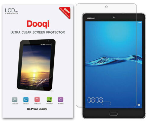 3X Dooqi HD Clear LCD Screen Protector For Huawei MediaPad M3 Lite 8