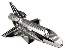 New Metallic Nano Puzzle 3D Space Shuttle Atlantis TMN-10 From Japan