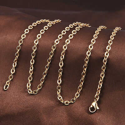 """30""""/88CM 18K Gold Chain Necklace for Harmony Ball Pendant Angel Caller Chain"""