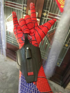 In Spider-man Homecoming Cosplay Spiderman Peter Parker Superhero Web Shooter Props Decorate Novel Design;