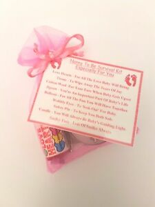 Image Is Loading Nanny To Be Survival Kit Baby Shower Gift