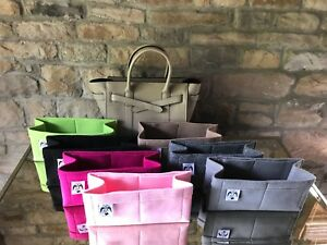 Image Is Loading Small Zipped Bayswater Insert Liner Bag Organiser Oxblood