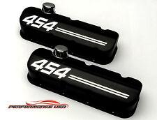 Big Block Chevy 454 Die Cast Aluminum Black Powder Coat Valve Covers