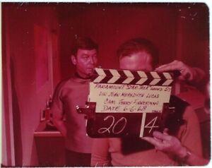 Star-Trek-TOS-35mm-Film-Clip-Slide-Elaan-Troyius-McCoy-Sickbay-Clapper-Board-162