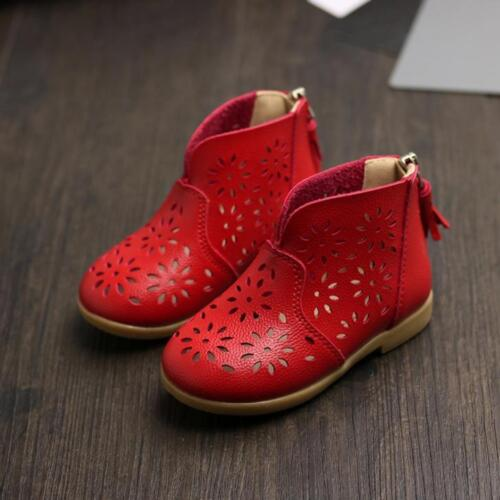 Breathable Toddler Baby Boots For Girl Summer Shoes Kids Children Princess Shoes