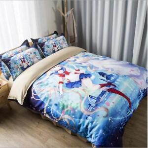 Sailor Moon Tsukino Usagi 3tlg4tlg Möbel Wohnen Bettwäsche