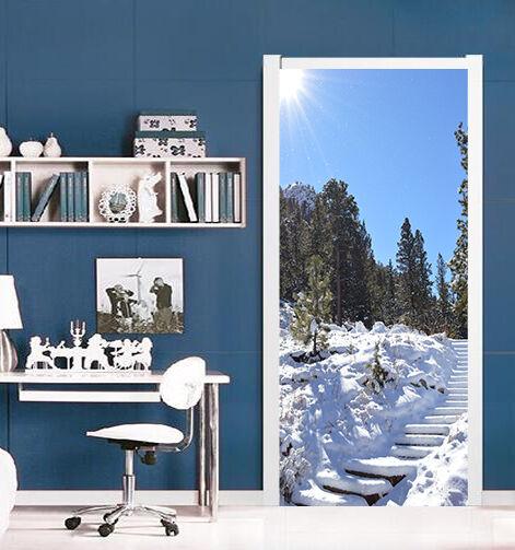 3D Schnee 73 Tür Wandmalerei Wandaufkleber Aufkleber AJ WALLPAPER DE Kyra | Moderate Kosten  | Bunt,  | Viele Sorten