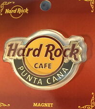 Hard Rock Cafe PUNTA CANA 2014 Classic HRC LOGO MAGNET Mint New on CARD