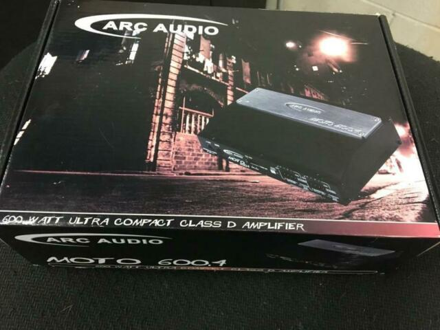 Arc Audio Moto 600.4 Multi-Channel Amplifier Four-Channels