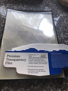 Hewlett Packard Premium Transparency Film (25)