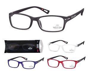 c51a57d811ac Image is loading Eyeglasses-reading-Frames-Rectangular-Man-Woman -Montana-MR76-