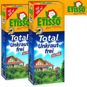 Frunol Delicia Etisso 2 x 250 ML Total Unkraut-Frei Ultra