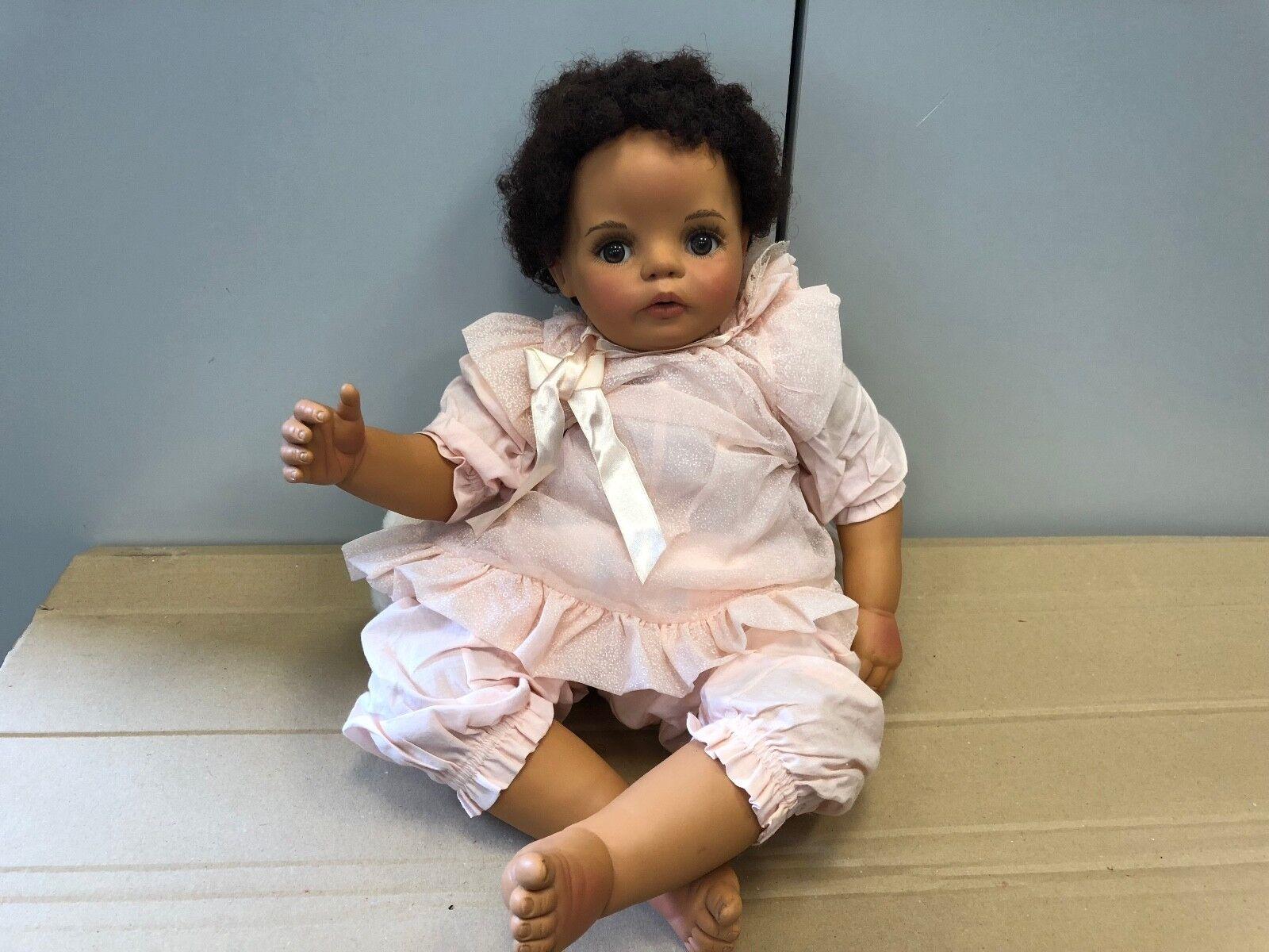 Monika peter leicht vinile bambola 54 CM. OTTIMO stato