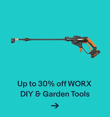 Up to 30% off WORX DIY & Garden Tools
