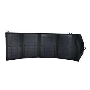 27watt Folding Solar Panel Portable 12V & Dual USB Battery Charger Mercury27