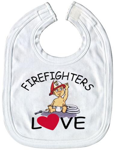 08423 babero bomberos firefighters-calidad-schlabberlätzchen