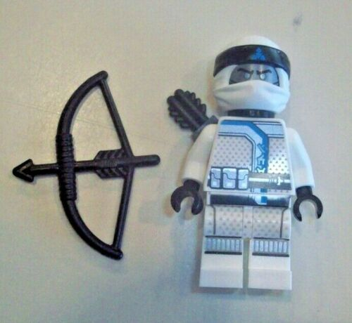 Lego Minifigure Ninjago Zane 70639 White Ice Sons of Garmadon