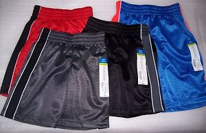 BOYS-BABY-TODDLER-OKIE-DOKIE-BASKETBALL-SHORTS-MULTIPLE-COLORS-SIZES-NEW-WITH-T