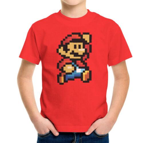 Super Mario Pixel Kid/'s T-Shirt