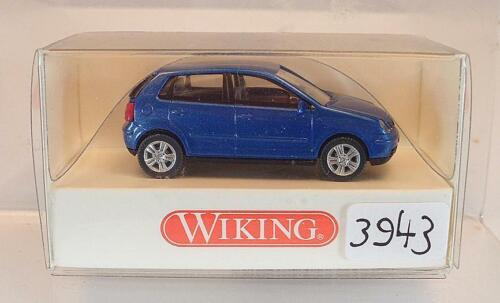 034 01 26 VW Volkswagen Polo blaumetallic OVP #3943 Wiking 1//87 Nr