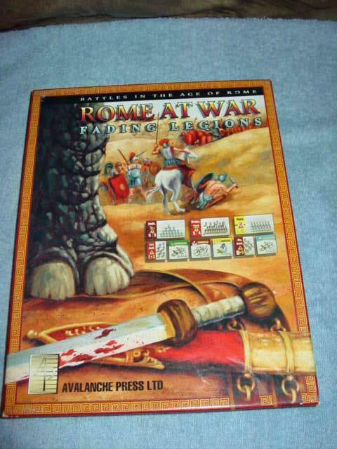 Avalanche Press 2002 - ROME at WAR    Fading Legions the Glory of Rome (UNP)