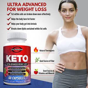 Keto Ultra- Advanced Weight Loss Dietary Nutritional Supplement - Eiyo Nutriton