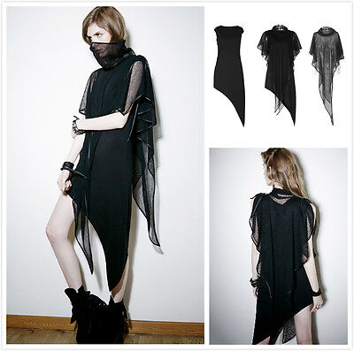 Punk-Rave PQ-102 Rmoa mesh 2 pieces Gothic/casual  sleeveless top/dress