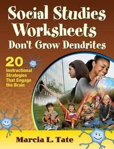 Social Studies Worksheets Don't Grow Dendrites : 20 Instructional ...