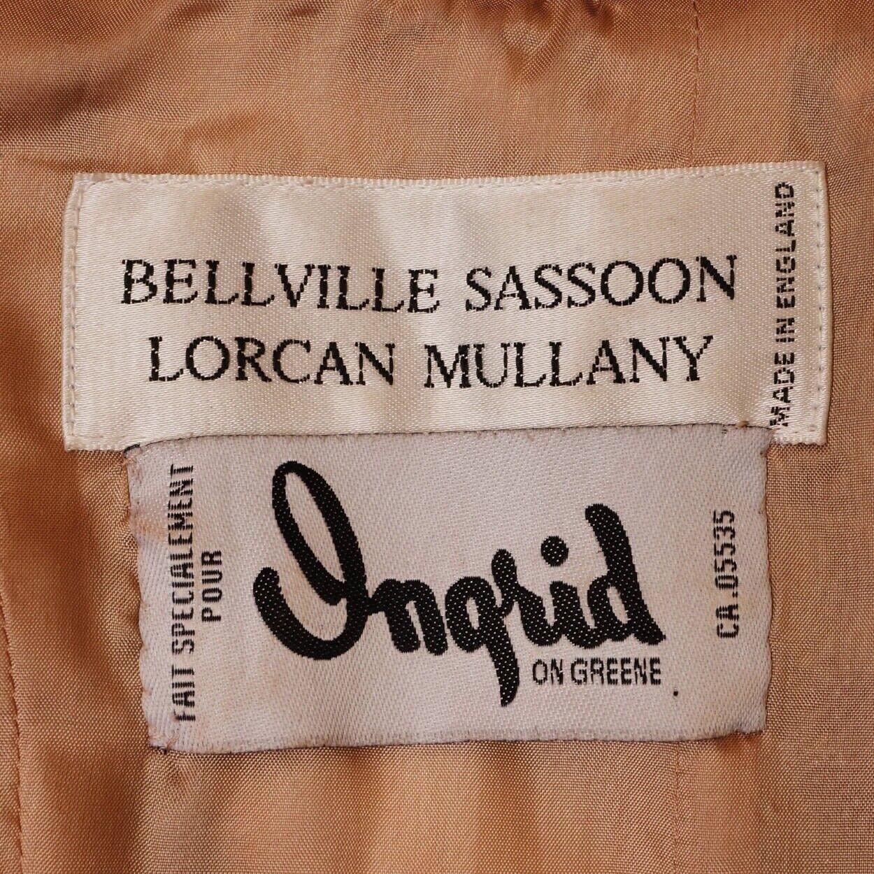 Vintage 1990s Black Lace Corset Top - Bellville S… - image 5