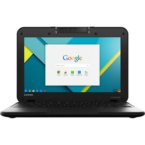 Lenovo-Chromebook-11-6-034-HD-Intel-Celeron-2-16-GHz-16-GB-SSD-4-GB-RAM-Webcam-Mic