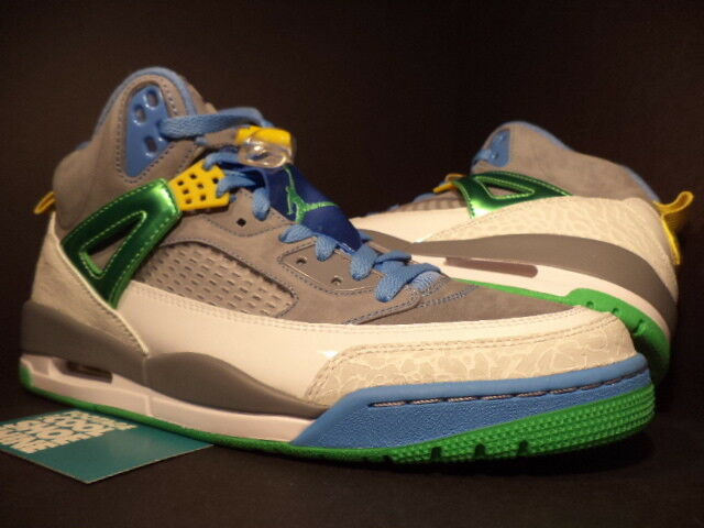 Nike Air Jordan SPIZIKE EASTER STEALTH CEMENT GREY GREEN BLUE 315371-056 DS 10.5 Seasonal price cuts, discount benefits