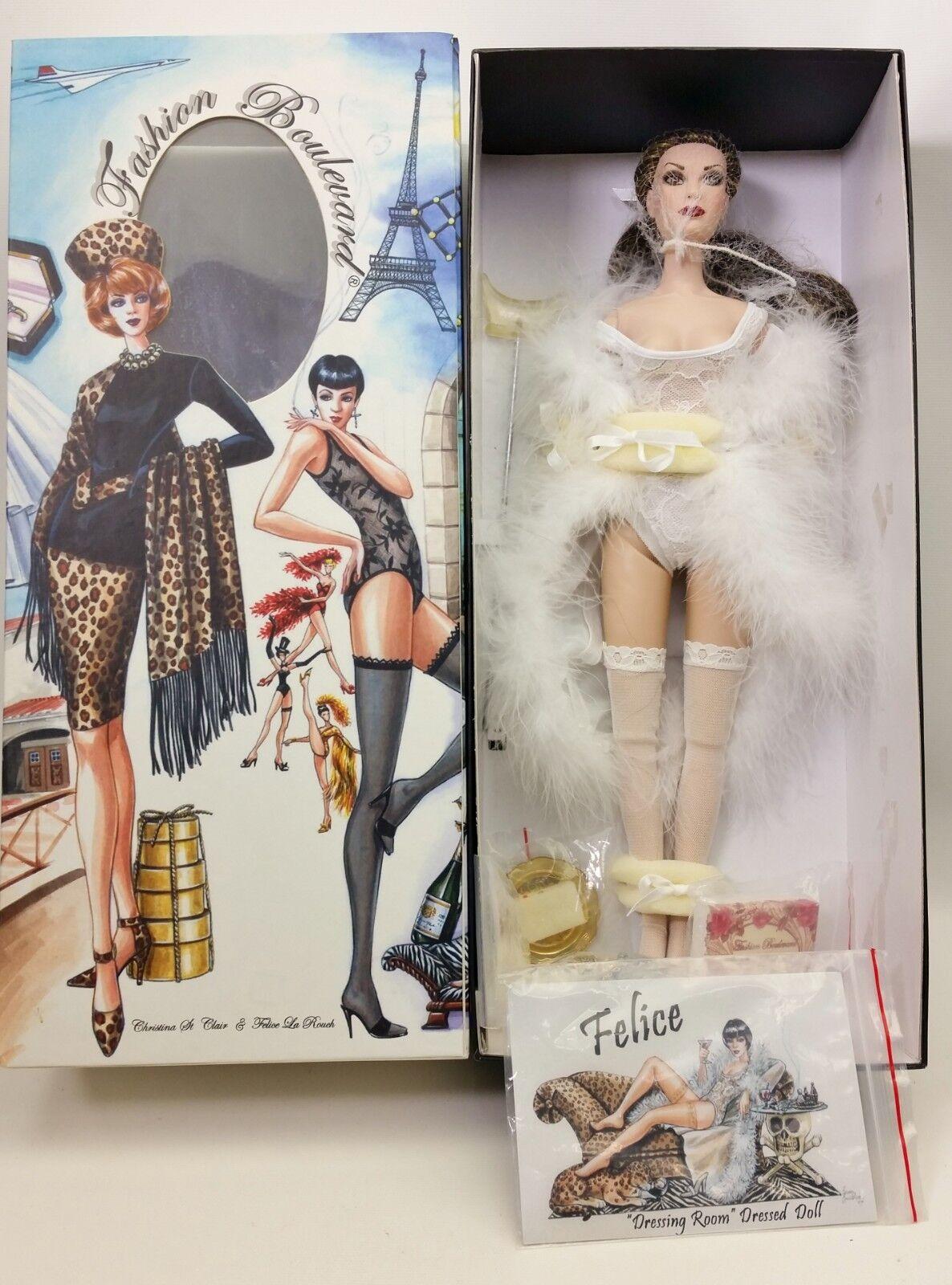 Fashion Boulevard Felice La Rouch Dressing Room Dressed Doll NIB