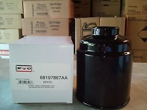 dodge ram 6 7 diesel fuel filters 68197867aa 2013 2016 ebay. Black Bedroom Furniture Sets. Home Design Ideas