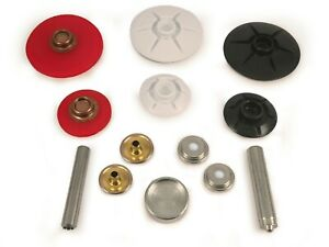 YKK Snad snap fastener self adhesive 40mm /& 25mm domed base stud canvas canopy