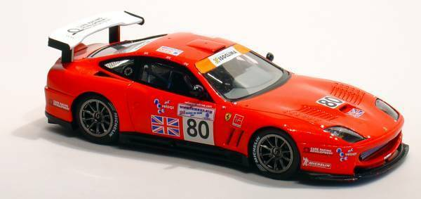 Ferrari 550 Maranello  80 Le Mans 2003 1 43 Model rougeLINE