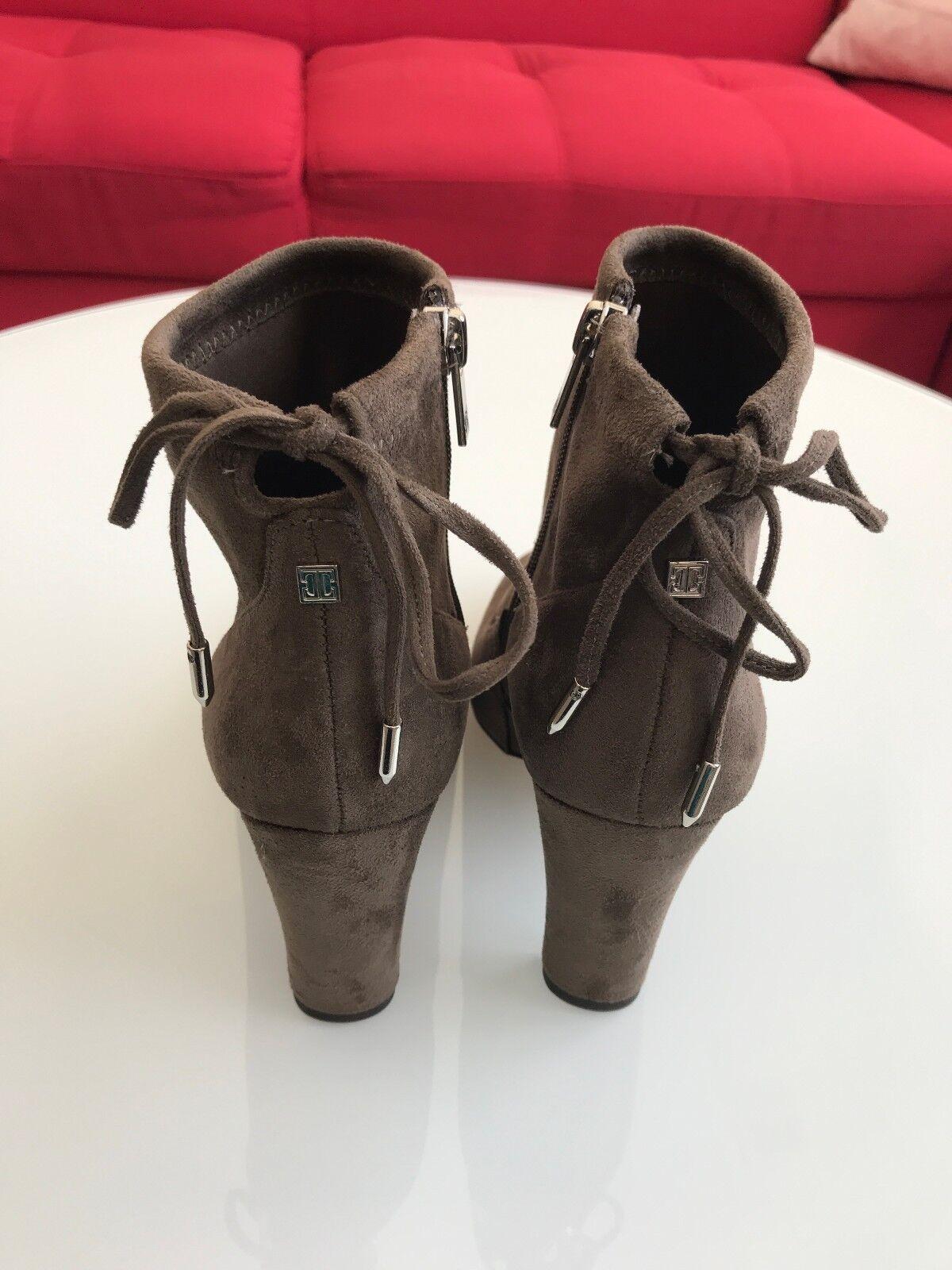 NEW Ivanka Trump Sharon High High High Heel Booties in Taupe 5c5690