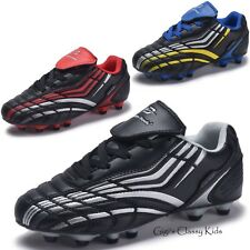 New Boys Girls Outdoor Soccer Tennis Shoes Cleats Youth Kids Baseball Football