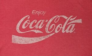 Coca-Cola-Red-T-Shirt-Size-XL-XLarge-A10