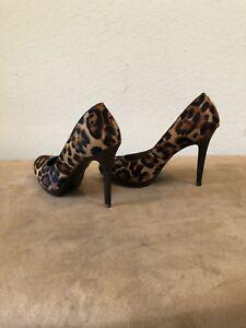 3 inch leopard heels