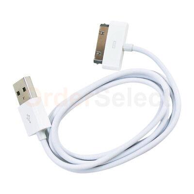 6PC USB SYNC DATA CABLE APPLE IPOD MINI TOUCH NANO IPAD