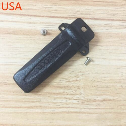 OEM Kenwood KBH-10 Belt Clip For NX-240VK NX-340UK TK2312 TK3312 TK-2400 TK-3400