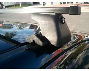 04-11 Lock 130cm Roof Bars C-15 Ford Focus mk II Hatchback 3/&5D Pair of