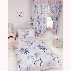 Stardust Unicorn Single Duvet Cover and Pillowcase Set