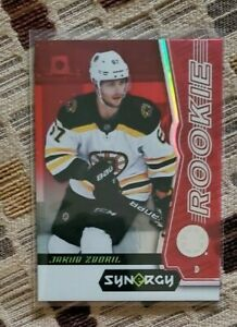 2018-19 Upper Deck Synergy Red Unscratched Jakub Zboril #41 Rookie FREE SHIPPING