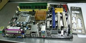 Asus P5KPL-AM LGA775 Motherboard with E5300 CPU 2GB /& I//O Plate