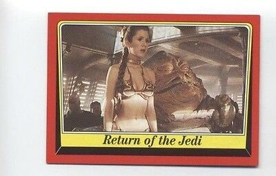 Star Wars Heritage P6 Promo Card Return of the Jedi Slave Leia 2004 NM Topps