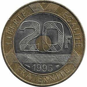 FRANCE-20-FRANCS-MONT-ST-MICHEL-1995-SUP